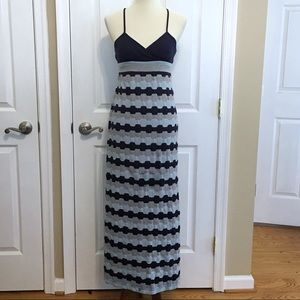 Saturday Sunday Blue Sleeveless Maxi Dress Size S